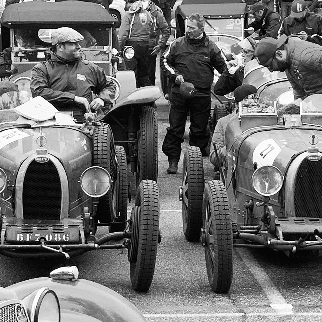 Mille Miglia spirit, what else- – – –