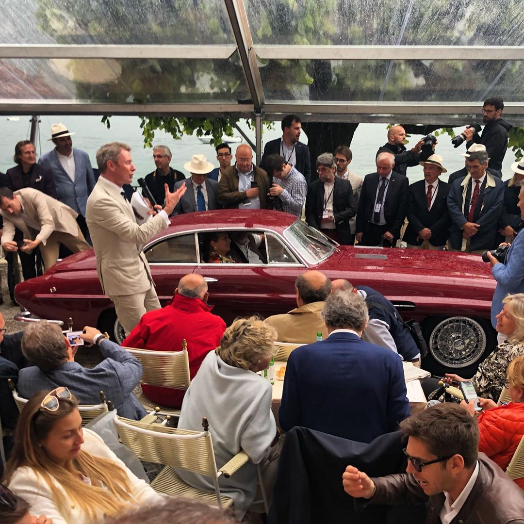 Treasures of the past are being celebrated like every year at the Concorso d'Eleganza Villa d'Este- – – –