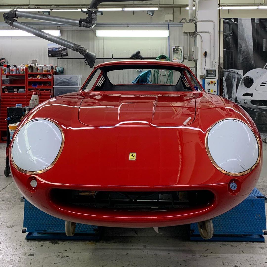Officially born Red 275 gtb4 rhd Rosso 190 – – –