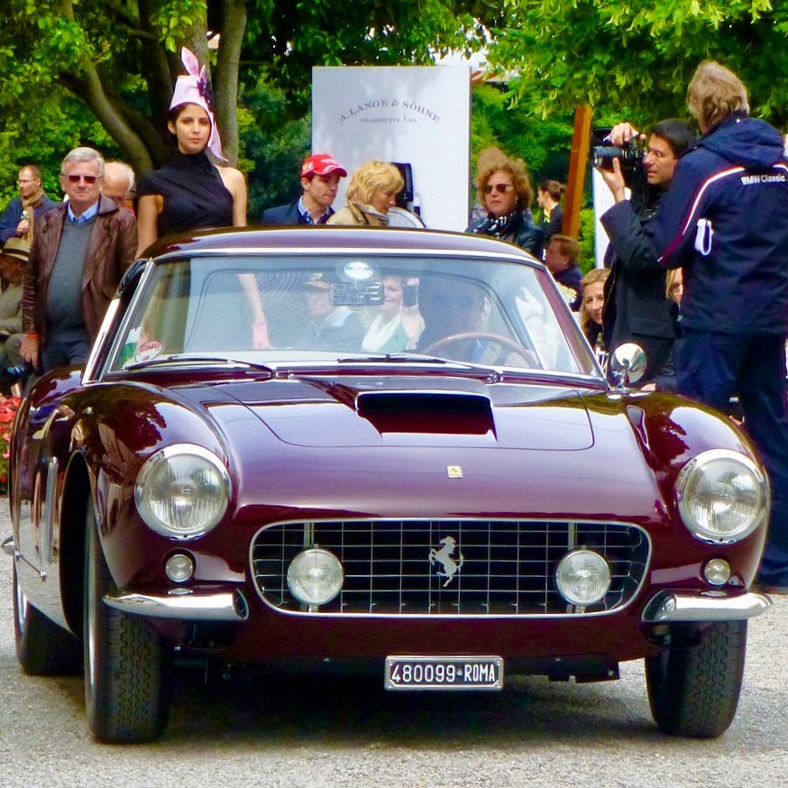One of my favorite car and one of my favorite place to display it. 2013 Concorso d'Eleganza Villa d'Este – – –