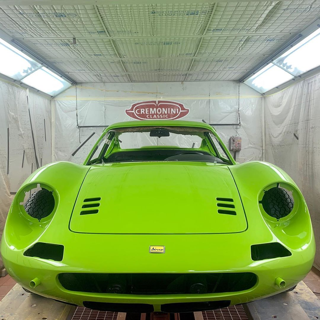 This Dino's Verde Germoglio 20-G-465 will make any other car on the street green with envy ️ – – –