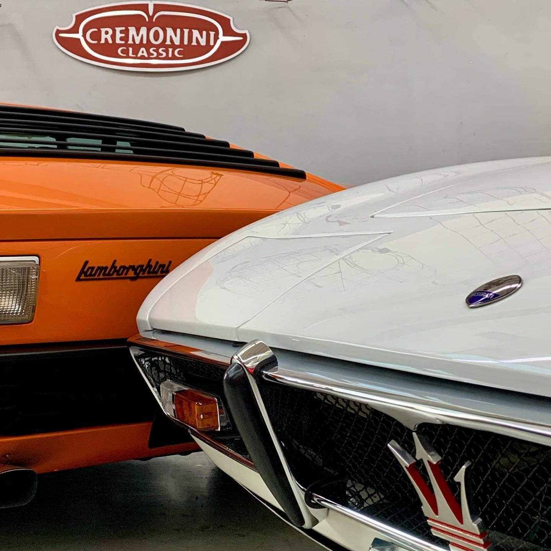 The trident logo of Maserati is based on the trident of Neptune and it represents strength and vigor. Taurus is known as the gentle bull of the zodiac and also represents the beautiful mythological White Bull that Zeus changed into princess Europa – – – #SuperCarSunday #SundayHoroscope #cremoniniclassic #lamborghini #miura #maserati #maseratighibli #ghiblispider #madeinitaly #motorvalley #MiuraHeritage #lamborghinimiurasv